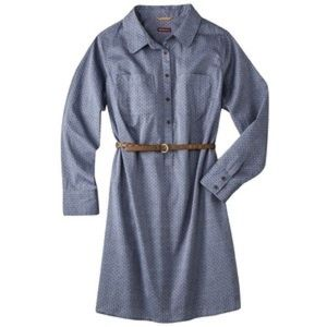 Merona chambray shirt dress